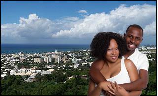 Couple île de la Réunion